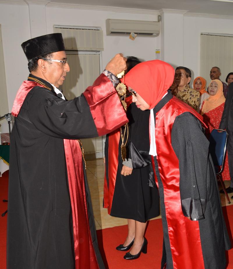 Pelantikan Ketua Pengadilan Negeri Tanjungkarang Kelas IA