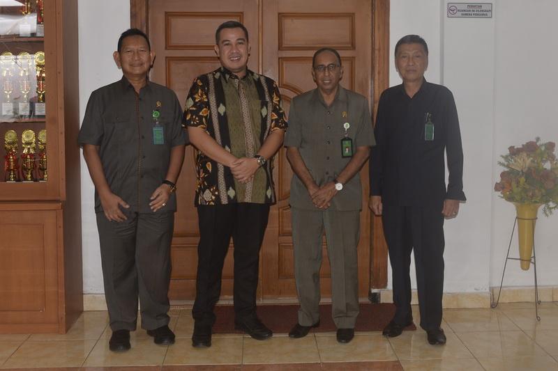 Kunjungan kerja Bupati Pesawaran H. Dendi Ramadhona, S.T